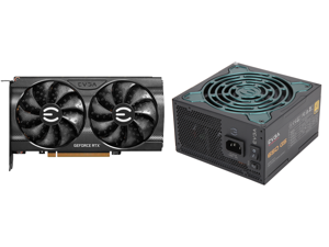 EVGA GeForce RTX 3060 XC GAMING 12G-P5-3657-KR 12GB GDDR6 Dual-Fan Metal Backplate and EVGA SuperNOVA 650 G5 80 Plus Gold 650W Fully Modular Eco Mode with FDB Fan 10 Year Warranty Includes Power ON Self Tester Compact 150mm Size Power Suppl