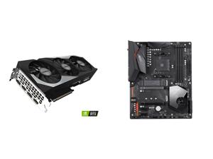 GIGABYTE GeForce RTX 3070 DirectX 12 GV-N3070GAMING OC-8GD 8GB 256-Bit GDDR6 PCI Express 4.0 x16 ATX Video Card and GIGABYTE X570 AORUS ELITE WIFI AM4 AMD X570 SATA 6Gb/s ATX AMD Motherboard