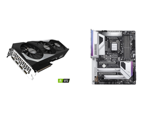 GIGABYTE GeForce RTX 3070 GAMING OC 8GB Video Card GV-N3070GAMING OC-8GD and GIGABYTE Z490 VISION G LGA 1200 Intel Z490 ATX Motherboard with Dual M.2 SATA 6Gb/s USB 3.2 Gen 2 2.5 GbE LAN SLI Support