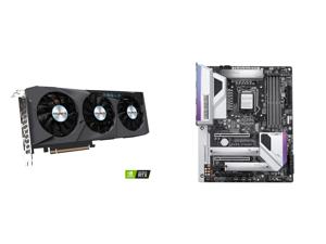 GIGABYTE GeForce RTX 3070 EAGLE OC 8GB Video Card GV-N3070EAGLE OC-8GD and GIGABYTE Z490 VISION G LGA 1200 Intel Z490 ATX Motherboard with Dual M.2 SATA 6Gb/s USB 3.2 Gen 2 2.5 GbE LAN SLI Support