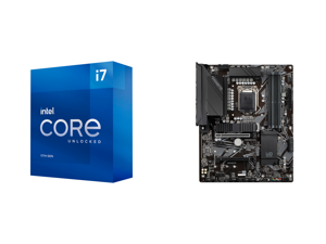 Intel Core i7-11700K Rocket Lake 8-Core 3.6 GHz LGA 1200 125W BX8070811700K Desktop Processor Intel UHD Graphics 750 and GIGABYTE Z590 UD LGA 1200 Intel Z590 ATX Motherboard with Triple M.2 PCIe 4.0 USB 3.2 Gen 2 2.5GbE LAN
