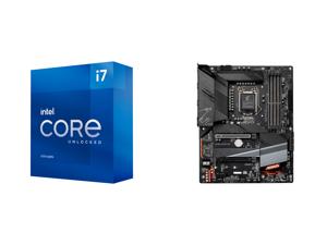 Intel Core i7-11700K Rocket Lake 8-Core 3.6 GHz LGA 1200 125W BX8070811700K Desktop Processor Intel UHD Graphics 750 and GIGABYTE Z590 AORUS ELITE LGA 1200 Intel Z590 ATX Motherboard with Triple M.2 PCIe 4.0 USB 3.2 Gen2X2 Type-C 2.5GbE LAN