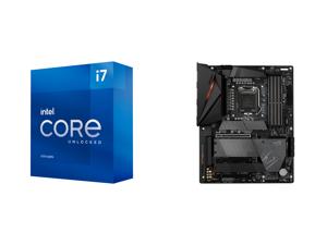 Intel Core i7-11700K Rocket Lake 8-Core 3.6 GHz LGA 1200 125W BX8070811700K Desktop Processor Intel UHD Graphics 750 and GIGABYTE Z590 AORUS PRO AX LGA 1200 Intel Z590 ATX Motherboard with 4 x M.2 PCIe 4.0 USB 3.2 Gen2X2 Type-C Intel WIFI 6