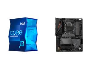 Intel Core i9-11900K Rocket Lake 8-Core 3.5 GHz LGA 1200 125W BX8070811900K Desktop Processor Intel UHD Graphics 750 and GIGABYTE Z590 AORUS PRO AX LGA 1200 Intel Z590 ATX Motherboard with 4 x M.2 PCIe 4.0 USB 3.2 Gen2X2 Type-C Intel WIFI 6