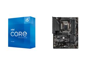 Intel Core i5-11600K Rocket Lake 6-Core 3.9 GHz LGA 1200 125W BX8070811600K Desktop Processor Intel UHD Graphics 750 and GIGABYTE Z590 UD LGA 1200 Intel Z590 ATX Motherboard with Triple M.2 PCIe 4.0 USB 3.2 Gen 2 2.5GbE LAN