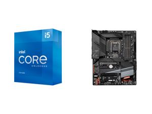 Intel Core i5-11600K Rocket Lake 6-Core 3.9 GHz LGA 1200 125W BX8070811600K Desktop Processor Intel UHD Graphics 750 and GIGABYTE Z590 AORUS ELITE LGA 1200 Intel Z590 ATX Motherboard with Triple M.2 PCIe 4.0 USB 3.2 Gen2X2 Type-C 2.5GbE LAN