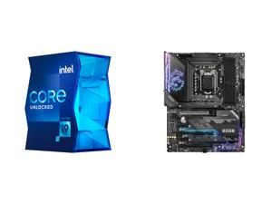 Intel Core i9-11900K Rocket Lake 8-Core 3.5 GHz LGA 1200 125W BX8070811900K Desktop Processor Intel UHD Graphics 750 and MSI MPG Z590 GAMING EDGE WIFI LGA 1200 Intel Z590 SATA 6Gb/s Intel Motherboard