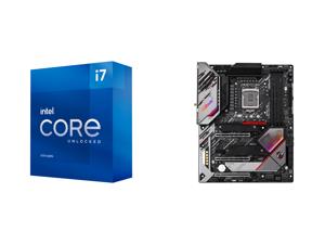 Intel Core i7-11700K Rocket Lake 8-Core 3.6 GHz LGA 1200 125W BX8070811700K Desktop Processor Intel UHD Graphics 750 and ASRock Z590 PG VELOCITA LGA 1200 Intel Z590 SATA 6Gb/s ATX Intel Motherboard