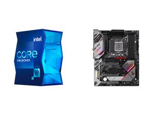 Intel Core i9-11900K Rocket Lake 8-Core 3.5 GHz LGA 1200 125W BX8070811900K Desktop Processor Intel UHD Graphics 750 and ASRock Z590 PG VELOCITA LGA 1200 Intel Z590 SATA 6Gb/s ATX Intel Motherboard