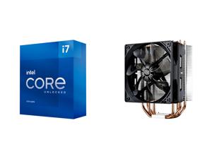 Intel Core i7-11700K Rocket Lake 8-Core 3.6 GHz LGA 1200 125W BX8070811700K Desktop Processor Intel UHD Graphics 750 and Cooler Master Hyper 212 Evo CPU Cooler 4 CDC Heatpipes 120mm PWM Fan Aluminum Fins for AMD Ryzen/Intel LGA1200/1151