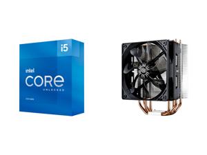 Intel Core i5-11600K Rocket Lake 6-Core 3.9 GHz LGA 1200 125W BX8070811600K Desktop Processor Intel UHD Graphics 750 and Cooler Master Hyper 212 Evo CPU Cooler 4 CDC Heatpipes 120mm PWM Fan Aluminum Fins for AMD Ryzen/Intel LGA1200/1151