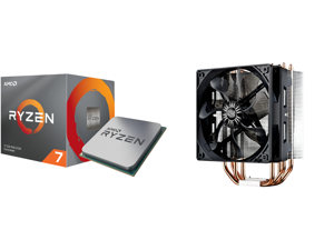 AMD RYZEN 7 3700X 8-Core 3.6 GHz (4.4 GHz Max Boost) Socket AM4 65W 100-100000071BOX Desktop Processor and Cooler Master Hyper 212 Evo CPU Cooler 4 CDC Heatpipes 120mm PWM Fan Aluminum Fins for AMD Ryzen/Intel LGA1200/1151