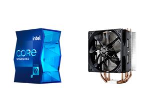 Intel Core i9-11900K Rocket Lake 8-Core 3.5 GHz LGA 1200 125W BX8070811900K Desktop Processor Intel UHD Graphics 750 and Cooler Master Hyper 212 Evo CPU Cooler 4 CDC Heatpipes 120mm PWM Fan Aluminum Fins for AMD Ryzen/Intel LGA1200/1151