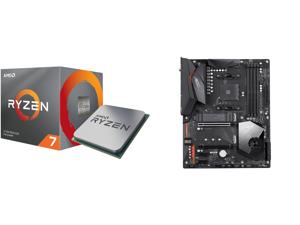 AMD RYZEN 7 3700X 8-Core 3.6 GHz (4.4 GHz Max Boost) Socket AM4 65W 100-100000071BOX Desktop Processor and GIGABYTE X570 AORUS ELITE WIFI AM4 AMD X570 SATA 6Gb/s ATX AMD Motherboard