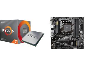 AMD RYZEN 7 3700X 8-Core 3.6 GHz (4.4 GHz Max Boost) Socket AM4 65W 100-100000071BOX Desktop Processor and GIGABYTE B550M DS3H AM4 AMD B550 Micro-ATX Motherboard with Dual M.2 SATA 6Gb/s USB 3.2 Gen 1 PCIe 4.0