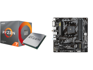 AMD RYZEN 7 3700X 8-Core 3.6 GHz (4.4 GHz Max Boost) Socket AM4 65W 100-100000071BOX Desktop Processor and GIGABYTE B550M DS3H AC AM4 AMD B550 SATA 6Gb/s Micro ATX AMD Motherboard