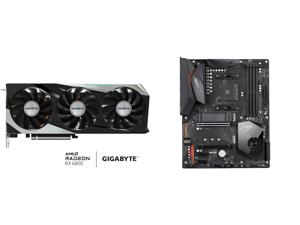 GIGABYTE Radeon RX 6800 GAMING OC 16G Graphics Card WINDFORCE 3X Cooling System 16GB 256-bit GDDR6 GV-R68GAMING OC-16GD Video Card Powered by AMD RDNA 2 HDMI 2.1 and GIGABYTE X570 AORUS ELITE AMD Ryzen 3000 PCIe 4.0 SATA 6Gb/s USB 3.2 AMD X