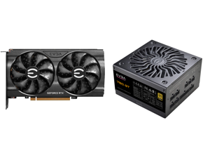 EVGA GeForce RTX 3060 XC GAMING 12G-P5-3657-KR 12GB GDDR6 Dual-Fan Metal Backplate and EVGA SuperNOVA 750 GT 80 Plus Gold 750W Fully Modular Auto Eco Mode with FDB Fan 7 Year Warranty Includes Power ON Self Tester Compact 150mm Size Power S