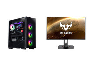"ABS Legend Gaming PC - Intel i9-10900KF - GeForce RTX 3090 - G.Skill TridentZ RGB 32GB DDR4 3200 MHz - 1TB M.2 NVMe SSD and ASUS TUF Gaming VG279QM 27"" Full HD 1920 x 1080 1 ms (GTG) 280Hz (Overclocking) 2 x HDMI DisplayPort G-SYNC ELMB SYN"