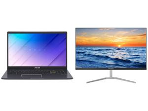"ASUS Laptop L510MA-DB02 Intel Celeron N4020 (1.10 GHz) 4 GB Memory 64 GB eMMC Intel UHD Graphics 600 15.6"" Windows 10 S and Westinghouse WH27FX9019 27"" Full HD 1920 x 1080 HDMI VGA Flicker-Free Technology Low Blue Light Filter Zero Bezel Fr"