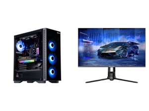 "ABS Legend Gaming PC - Intel i7 11700K - EVGA GeForce RTX 3090 FTW3 Ultra Gaming - G.Skill TridentZ RGB 32GB DDR4 3200MHz - 1TB Intel M.2 NVMe SSD - EVGA CLC 240MM RGB AIO and Westinghouse WM27PX9019 27"" Full HD 1920 x 1080 144Hz HDMI VGA D"