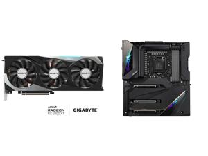 GIGABYTE Radeon RX 6900 XT GAMING OC Video Card GV-R69XTGAMING OC-16GD and GIGABYTE Z590 AORUS XTREME LGA 1200 Intel Z590 SATA 6Gb/s Extended ATX Intel Motherboard