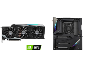 GIGABYTE GeForce RTX 3090 GAMING OC 24G Video Card GV-N3090GAMING OC-24GD and GIGABYTE Z590 AORUS XTREME LGA 1200 Intel Z590 SATA 6Gb/s Extended ATX Intel Motherboard