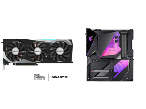 GIGABYTE Radeon RX 6900 XT GAMING OC Video Card GV-R69XTGAMING OC-16GD and GIGABYTE Z490 AORUS XTREME WATERFORCE LGA 1200 Intel Z490 E-ATX Motherboard with Triple M.2 SATA 6Gb/s USB 3.2 Gen 2 WIFI 6 10 GbE LAN Dual Thunderbolt 3 All-In-One