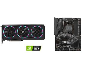 GIGABYTE AORUS GeForce RTX 3060 Ti ELITE 8G Graphics Card 3 x WINDFORCE Fans 8GB 256-bit GDDR6 GV-N306TAORUS E-8GD Video Card and GIGABYTE B550 GAMING X V2 AM4 AMD B550 SATA 6Gb/s ATX AMD Motherboard