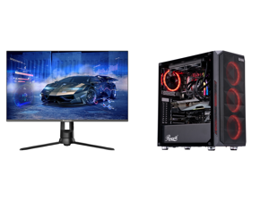 """Westinghouse WM27PX9019 27"""" Full HD 1920 x 1080 144Hz HDMI VGA DisplayPort AMD FreeSync Technology Flicker-Free Edgeless Design Eye Care Technology Widescreen Backlit LED Gaming Monitor and ABS Gladiator Gaming PC - Intel i7 10700KF - GeFor"""