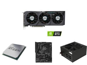 GIGABYTE GeForce RTX 3070 EAGLE OC 8GB Video Card GV-N3070EAGLE OC-8GD and AMD RYZEN 7 3700X 8-Core 3.6 GHz (4.4 GHz Max Boost) Socket AM4 65W 100-100000071BOX Desktop Processor and GIGABYTE X570 GAMING X AMD Ryzen 3000 PCIe 4.0 SATA 6Gb/s