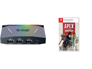 IOGEAR KeyMander 2 Keyboard/Mouse Adapter Plus Controller Crossover and Apex Legends Champion Edition - Nintendo Switch