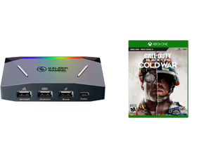 IOGEAR KeyMander 2 Keyboard/Mouse Adapter Plus Controller Crossover and Call Of Duty: Black Ops Cold War - Xbox One