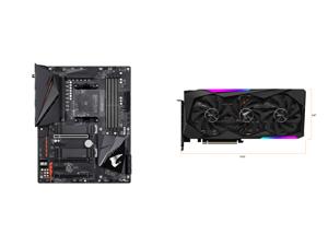 GIGABYTE B550 AORUS PRO AC AM4 AMD B550 ATX Motherboard with Dual M.2 SATA 6Gb/s USB 3.2 Gen 2 Intel 802.11ac 2.5 GbE LAN PCIe 4.0 and GIGABYTE AORUS GeForce RTX 3070 MASTER 8GB Video Card GV-N3070AORUS M-8GD