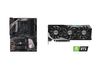 GIGABYTE B450 AORUS PRO WIFI (rev. 1.0) AM4 AMD B450 SATA 6Gb/s ATX AMD Motherboard and GIGABYTE GeForce RTX 3060 Ti GAMING OC PRO 8GB Video Card GV-N306TGAMINGOC PRO-8GD