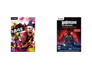 Rage 2 - PC (Product Key Code) and Wolfenstein Youngblood Deluxe - PC