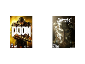 Doom - PC and Fallout 4 - PC