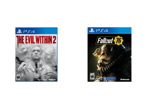 The Evil Within 2 - PlayStation 4 and Fallout 76 Wastelanders - PlayStation 4