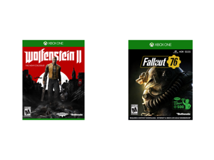 Wolfenstein 2: The New Colossus - Xbox One and Fallout 76 Wastelanders - Xbox One
