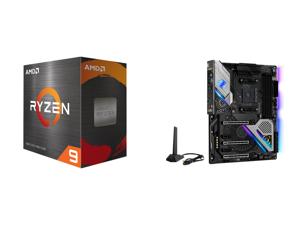 AMD Ryzen 9 5950X 16-Core 3.4 GHz Socket AM4 105W 100-100000059WOF Desktop Processor and ASRock X570 TAICHI AM4 AMD X570 SATA 6Gb/s ATX AMD Motherboard