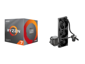 AMD RYZEN 7 3700X 8-Core 3.6 GHz (4.4 GHz Max Boost) Socket AM4 65W 100-100000071BOX Desktop Processor and CoolerMaster MasterLiquid ML360 SUB-ZERO Thermoelectric Cooling (TEC) AIO CPU Liquid Cooler Powered by Intel Cryo Cooling Technology
