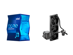 Intel Core i9-11900K 3.5 GHz LGA 1200 BX8070811900K Desktop Processor and CoolerMaster MasterLiquid ML360 SUB-ZERO Thermoelectric Cooling (TEC) AIO CPU Liquid Cooler Powered by Intel Cryo Cooling Technology 2nd Generation Pump 360 Radiator