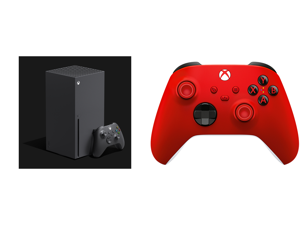 Microsoft Xbox Series X and Xbox Wireless Controller - Pulse Red