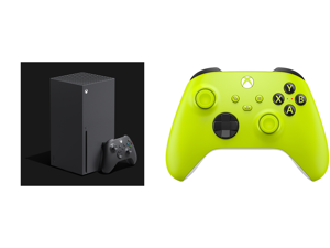 Microsoft Xbox Series X and Xbox Wireless Controller - Electric Volt