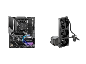 MSI MAG B550 TOMAHAWK AM4 ATX AMD Motherboard and CoolerMaster MasterLiquid ML360 SUB-ZERO Thermoelectric Cooling (TEC) AIO CPU Liquid Cooler Powered by Intel Cryo Cooling Technology 2nd Generation Pump 360 Radiator for Intel LGA 1200