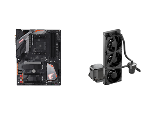 GIGABYTE B450 AORUS PRO WIFI (rev. 1.0) AM4 ATX AMD Motherboard and CoolerMaster MasterLiquid ML360 SUB-ZERO Thermoelectric Cooling (TEC) AIO CPU Liquid Cooler Powered by Intel Cryo Cooling Technology 2nd Generation Pump 360 Radiator for In