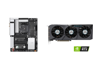 GIGABYTE B550 VISION D-P AM4 AMD B550 ATX Motherboard with Dual M.2 SATA 6Gb/s USB 3.2 Type-C with Thunderbolt 3 WIFI 6 Dual 2.5GbE LAN PCIe 4.0 and GIGABYTE Eagle GeForce RTX 3070 8GB GDDR6 PCI Express 4.0 x16 ATX Video Card GV-N3070EAGLE-