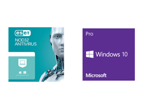 ESET NOD32 Antivirus 1 Year 1 Device and Windows 10 Pro 32-bit/64-bit - (Product Key Code Email Delivery)