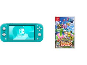 Nintendo Switch Lite - Turquoise and New Pokemon Snap - Nintendo Switch