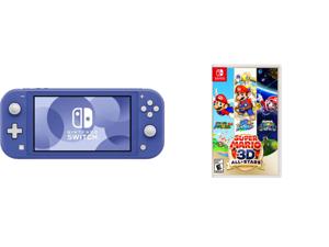 Nintendo Switch Lite - Blue and Nintendo Super Mario 3D: All Stars for Nintendo Switch #110717